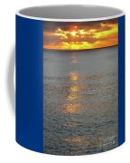 The Black Sea In A Swath Of Gold Coffee Mug