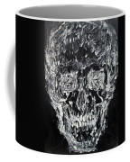 The Black Skull - Oil Portrait Coffee Mug
