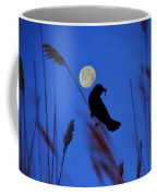 The Blackbird And The Moon Coffee Mug