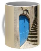 The Blue Door Coffee Mug