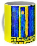 The Blue Doors Of La Rue Des Fauves Coffee Mug