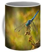 The Blue Dragonfly  Coffee Mug
