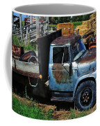 The Blue Farm Truck Coffee Mug