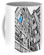 The Blue Window In Venice - Italy Coffee Mug