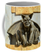 The Boardwalk Of Santa Cruz Gargoyles Coffee Mug