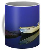 The Boat In The Fog Coffee Mug