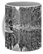 The Boathouse In Old Forge Coffee Mug