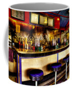 The Bolton Bean Trolley Car Diner In Bolton Landing New York Coffee Mug