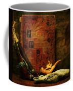 The Bookshelf Coffee Mug