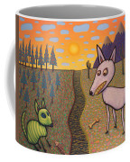 The Border Coffee Mug by James W Johnson