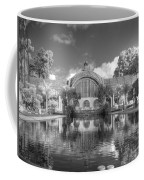 The Botanical Building In Black And White Coffee Mug