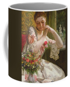 The Bouquet Coffee Mug by Albert Raudnitz