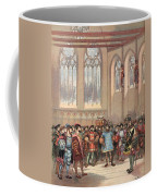 The Bourgogne Herald, Sent By Charles Coffee Mug