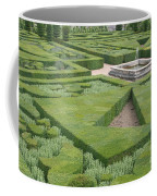 The Boxwood Garden At Chateau Villandry Coffee Mug