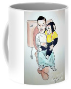 The Boy Sitting On The Thrown Coffee Mug