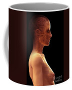 The Brain Female Coffee Mug