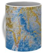 The Breakup Of Pangaea Coffee Mug