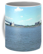 The Bridge And The River Coffee Mug