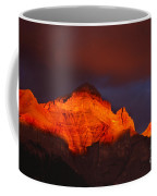 The Brilliance Of Light Mount Rundle Banff Coffee Mug