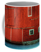 The Broad Side Of A Barn Coffee Mug by Lois Bryan