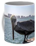 The Brown Pelican  Coffee Mug