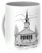 The Brownington Congregational Church Coffee Mug by Richard Wambach
