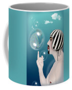 the Bubble man Coffee Mug by Mark Ashkenazi