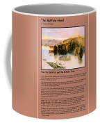 The Buffalo Heard  Coffee Mug by Charles Russell