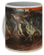 The Burden Of Taxation, Illustration Coffee Mug by Eugene Cadel