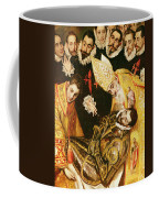 The Burial Of Count Orgaz Coffee Mug