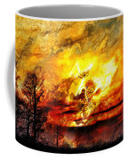 The Burning - Digital Paint Coffee Mug