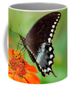 The Butterfly And The Zinnia Coffee Mug