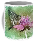 The Butterfly Visitor Coffee Mug