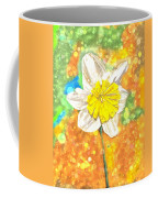 The Buzzing Life Of A Spring Narcissus Coffee Mug