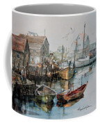 The B'y That Catches The Fish Coffee Mug by Hanne Lore Koehler