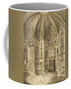 The Cabinet, Engraved By T. Morris Coffee Mug