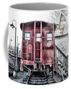 The Caboose Coffee Mug by Bill Cannon