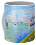 The Canal At  Gravelines Coffee Mug