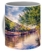 The Canal In Downtown Scottsdale Coffee Mug