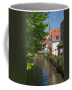 The Canal In The Downtown Of Bruges  Coffee Mug