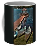 The Canoes At Big Moose Inn Coffee Mug