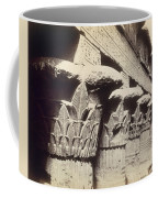 The Capitals Of The Portico Of The Temple Of Khnum In Esna Coffee Mug