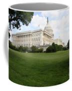 The Capitol Hill View Washington Dc Coffee Mug