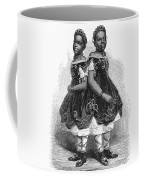 The Carolina Twins, 1866 Coffee Mug
