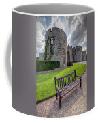The Castle Bench Coffee Mug by Adrian Evans