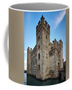 The Castle Of Sirmione. Lago Di Garda Coffee Mug