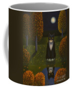 The Cat And The Moon Coffee Mug
