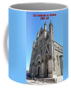 The Cathedral At Orvieto Coffee Mug