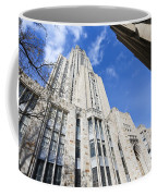 The Cathedral Of Learning 5 Coffee Mug