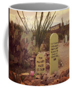The Cemetery At Boothill Coffee Mug